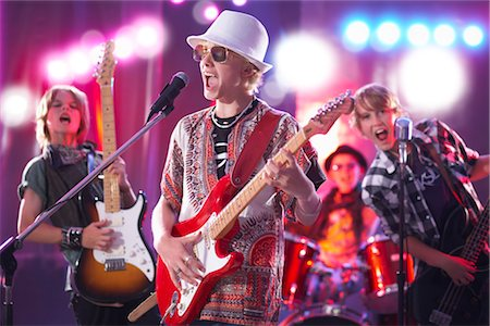 Boys in Rock Band Stock Photo - Premium Royalty-Free, Code: 600-03404712
