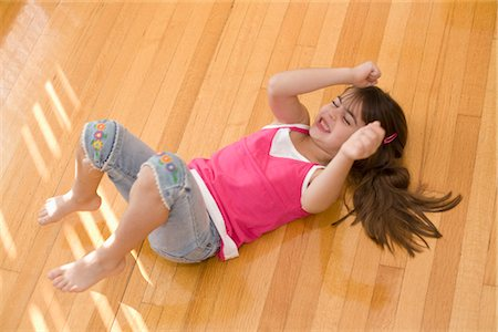 Girl having Temper Tantrum Stock Photo - Premium Royalty-Free, Code: 600-03403637