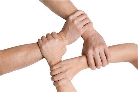 Clasped Hands Stock Photo - Premium Royalty-Free, Code: 600-03403786