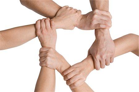 Clasped Hands Stock Photo - Premium Royalty-Free, Code: 600-03403787