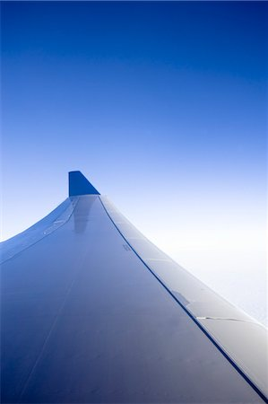 Wing of Airplane Stock Photo - Premium Royalty-Free, Code: 600-03439284