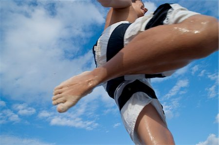 preteen feet - Boy Jumping in Air, Mexico Stock Photo - Premium Royalty-Free, Code: 600-03456890