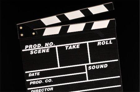 slate - Clapper Board Stock Photo - Premium Royalty-Free, Code: 600-03463189