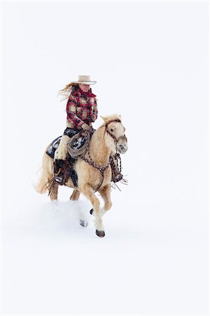 Cowgirl, Shell, Big Horn County, Wyoming, USA Stock Photo - Premium Royalty-Free, Code: 600-03502655