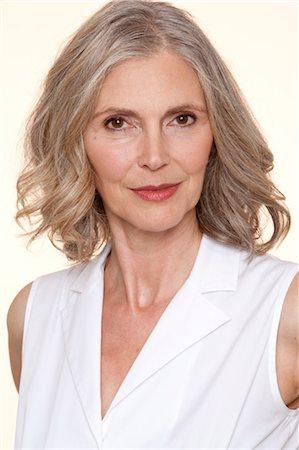 Portrait of Woman Stock Photo - Premium Royalty-Free, Code: 600-03556559
