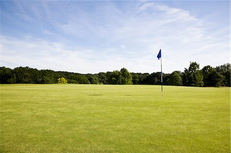 Golf Course, Heiligenhaus, North Rhine-Westphalia, Germany Stock Photo - Premium Royalty-Free, Code: 600-03586408