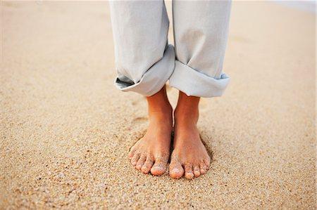 Woman's Feet, Baja California Sur, Mexico Stock Photo - Premium Royalty-Free, Code: 600-03586529