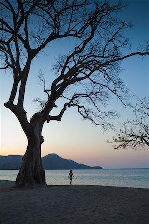 Woman Walking on Beach, Playa de Matapalo, Guanacaste, Costa Rica Stock Photo - Premium Royalty-Free, Code: 600-03685849