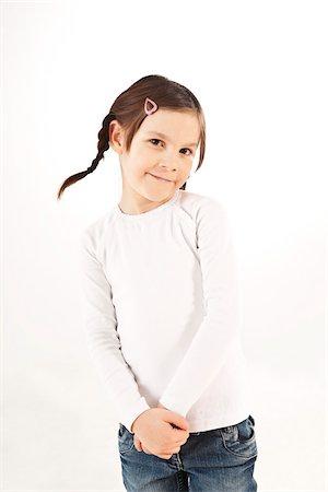 Portrait of Girl Stock Photo - Premium Royalty-Free, Code: 600-03697806