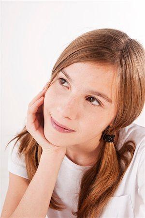 Portrait of Girl Stock Photo - Premium Royalty-Free, Code: 600-03697814
