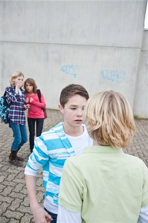 student fighting - Teenagers Fighting Stock Photo - Premium Royalty-Free, Code: 600-03734614