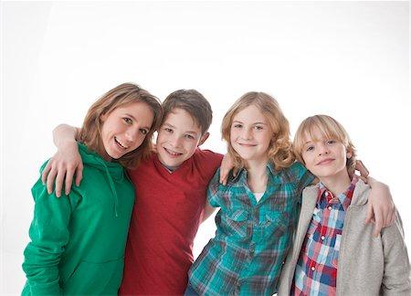 Portrait of Teenagers Stock Photo - Premium Royalty-Free, Code: 600-03734619