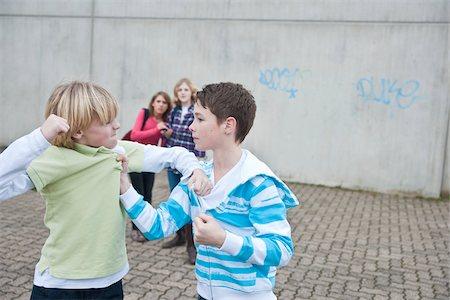 student fighting - Teenagers Fighting Stock Photo - Premium Royalty-Free, Code: 600-03734613