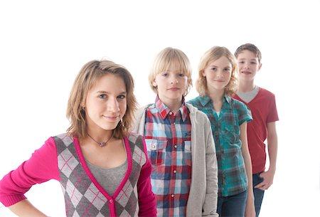 Portrait of Teenagers Stock Photo - Premium Royalty-Free, Code: 600-03734625