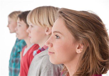 Portrait of Teenagers Stock Photo - Premium Royalty-Free, Code: 600-03734626