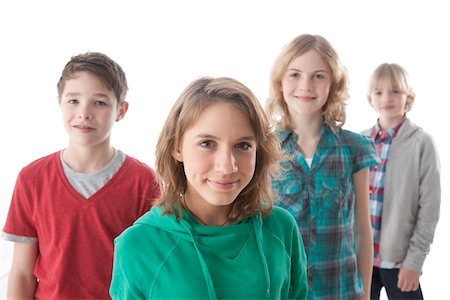 Portrait of Teenagers Stock Photo - Premium Royalty-Free, Code: 600-03734620