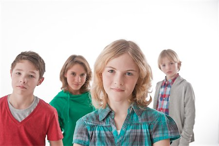 Portrait of Teenagers Stock Photo - Premium Royalty-Free, Code: 600-03734621