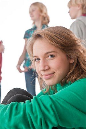 Portrait of Teenager Stock Photo - Premium Royalty-Free, Code: 600-03734622