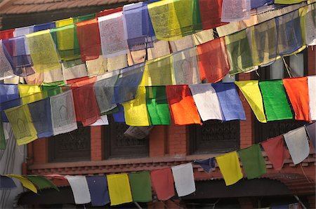 Prayer Flags, Boudhanath, Kathmandu, Bagmati, Madhyamanchal, Nepal Stock Photo - Premium Royalty-Free, Code: 600-03737723