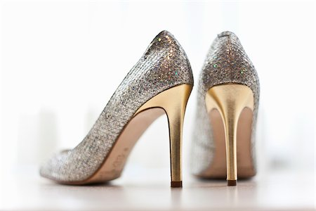 sparkling - High Heel Shoes Stock Photo - Premium Royalty-Free, Code: 600-03739035