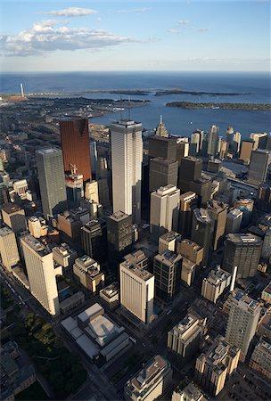 Skyline, Toronto, Ontario, Canada Stock Photo - Premium Royalty-Free, Code: 600-03777124