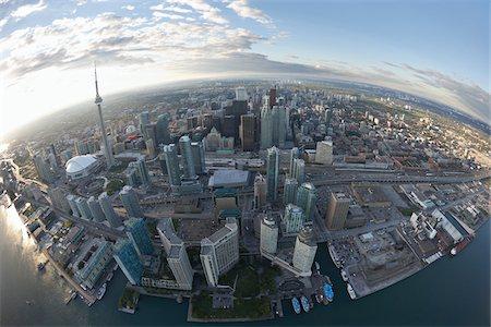 Skyline, Toronto, Ontario, Canada Stock Photo - Premium Royalty-Free, Code: 600-03777120