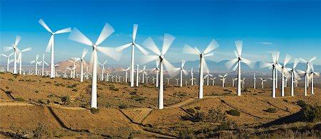 Tehachapi Pass Wind Farm, Tehachapi, Kern County, California, USA Stock Photo - Premium Royalty-Free, Code: 600-03814717