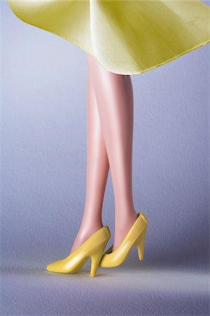 Doll Legs Stock Photo - Premium Royalty-Free, Code: 600-03815162