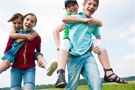 Children Playing Stock Photo - Premium Royalty-Free, Code: 600-03836156
