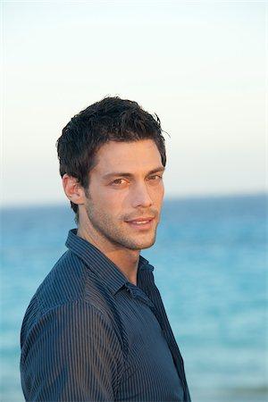 Portrait of Man, Playa del Carmen, Mexico Stock Photo - Premium Royalty-Free, Code: 600-03849165