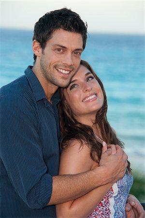 Couple, Reef Playacar Resort and Spa Hotel, Playa del Carmen, Quintana Roo, Yucatan Peninsula, Mexico Stock Photo - Premium Royalty-Free, Code: 600-03849614