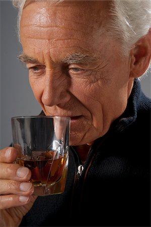 Man Drinking Alcohol Stock Photo - Premium Royalty-Free, Code: 600-03865085