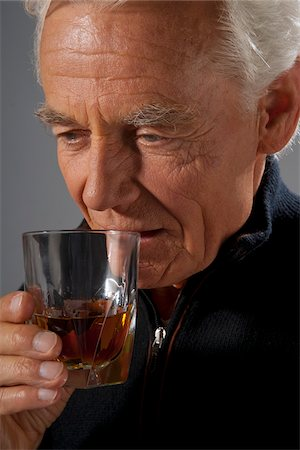 Man Drinking Alcohol Stock Photo - Premium Royalty-Free, Code: 600-03865085