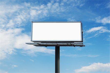 Empty Billboard, Toronto, Ontario, Canada Stock Photo - Premium Royalty-Free, Code: 600-03865514