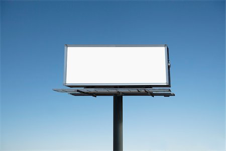 Empty Billboard, Toronto, Ontario, Canada Stock Photo - Premium Royalty-Free, Code: 600-03865515