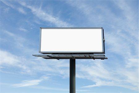 Empty Billboard, Toronto, Ontario, Canada Stock Photo - Premium Royalty-Free, Code: 600-03865516