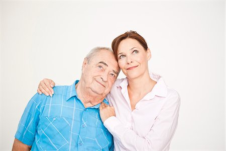 Portrait of Man and Woman Stock Photo - Premium Royalty-Free, Code: 600-03893390