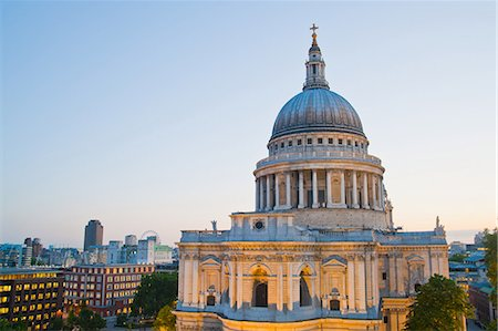 St. Paul's Cathedral, London Stock Photo - Premium Royalty-Free, Code: 614-05650889