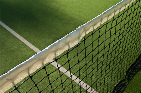 Close up of tennis net Stock Photo - Premium Royalty-Free, Code: 614-05662159