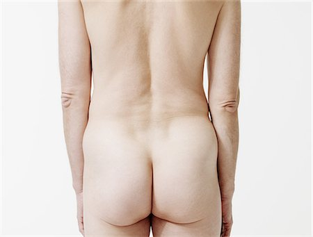 Rear view of nude man Stock Photo - Premium Royalty-Free, Code: 614-05792286