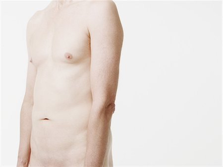 Nude man, mid section Stock Photo - Premium Royalty-Free, Code: 614-05792299