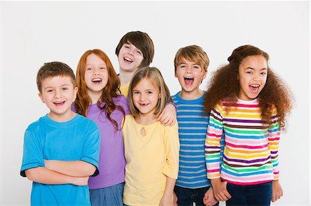 preteen girl - Happy children Stock Photo - Premium Royalty-Free, Code: 614-05818923