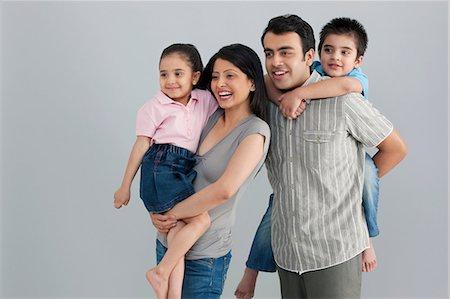pregnant asian - Family enjoying Stock Photo - Premium Royalty-Free, Code: 614-05955373