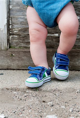 Legs of a toddler Stock Photo - Premium Royalty-Free, Code: 614-05955384