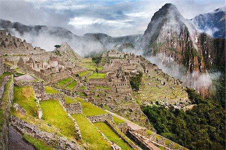 peru and culture - Machu picchu, peru, south america Stock Photo - Premium Royalty-Free, Code: 614-06002489