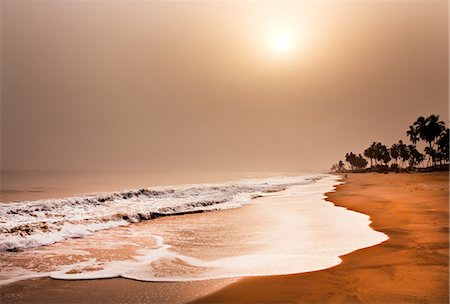 Beach, elmina, ghana, west africa Stock Photo - Premium Royalty-Free, Code: 614-06002492