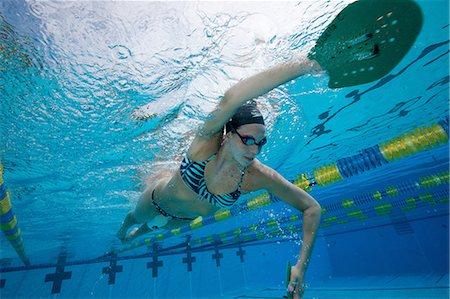 swimming - Olympic Hopeful in Training Stock Photo - Premium Royalty-Free, Code: 614-06044249