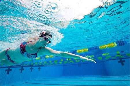 swimming - Olympic Hopeful in Training Stock Photo - Premium Royalty-Free, Code: 614-06044251
