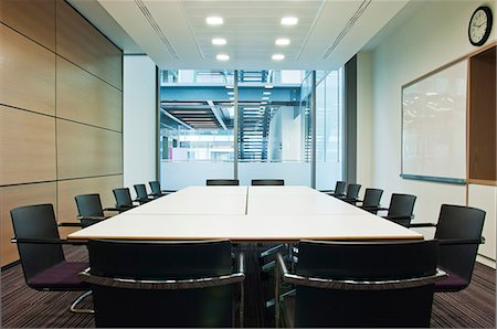 Conference room in empty office block Stock Photo - Premium Royalty-Free, Code: 614-06044736