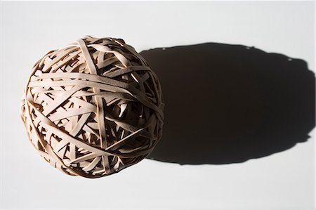 Ball of rubber bands Stock Photo - Premium Royalty-Free, Code: 614-06116067